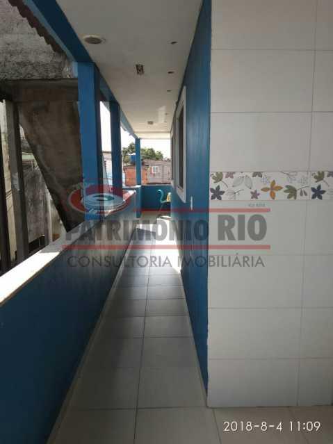 24 - Lindo apartamento tipo casa sala 2qtos churrasqueira - PAAP22428 - 25