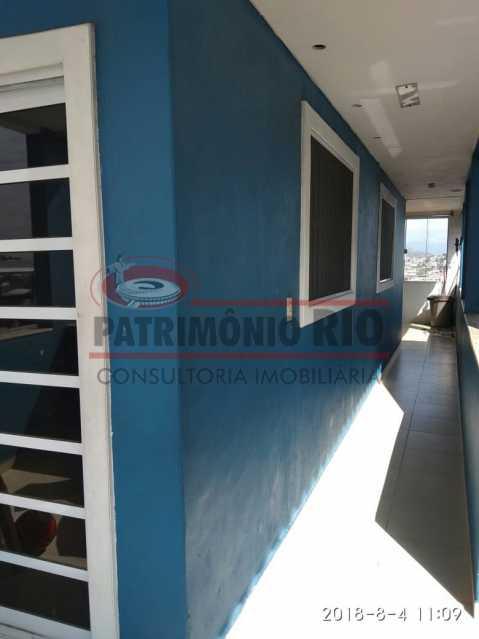 25 - Lindo apartamento tipo casa sala 2qtos churrasqueira - PAAP22428 - 26