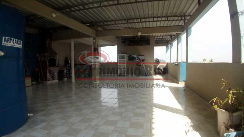 26 - Lindo apartamento tipo casa sala 2qtos churrasqueira - PAAP22428 - 27
