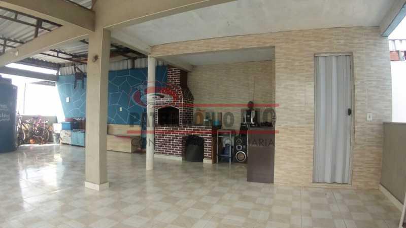 27 - Lindo apartamento tipo casa sala 2qtos churrasqueira - PAAP22428 - 28