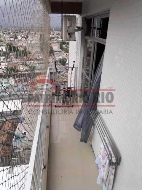 6.1 - Varanda suíte primeiroa - Cobertura Duplex 3vagas com lazer completo - PACO30046 - 11