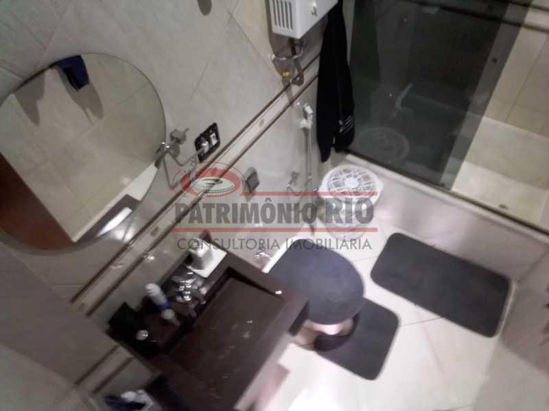 8.1 - Banheiro suíte segundoa - Cobertura Duplex 3vagas com lazer completo - PACO30046 - 20