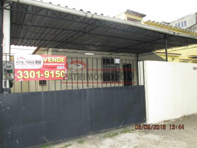 IMG_6803 - CASA FRENTE DE RUA, 2QUARTOS E 2 VAGAS DE GARAGEM. - PACA20417 - 1