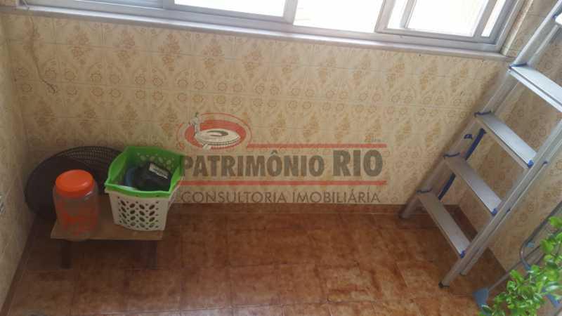 FL 6 - Apartamento tipo casa em condomínio fechado. - PAAP22637 - 11