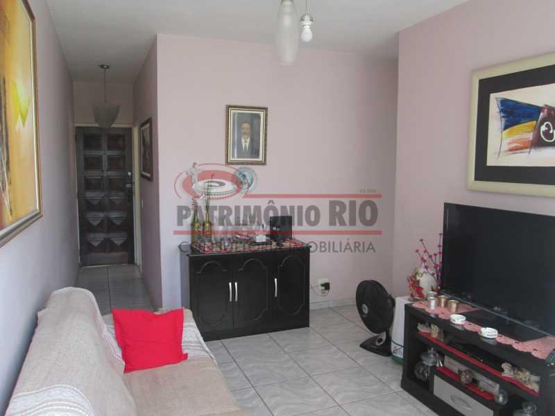 IMG_2025 - Excelente Apto Varanda, 2Quartos, Dependência Completa, Vaga de Garagem - Vista Alegre - PAAP22685 - 6