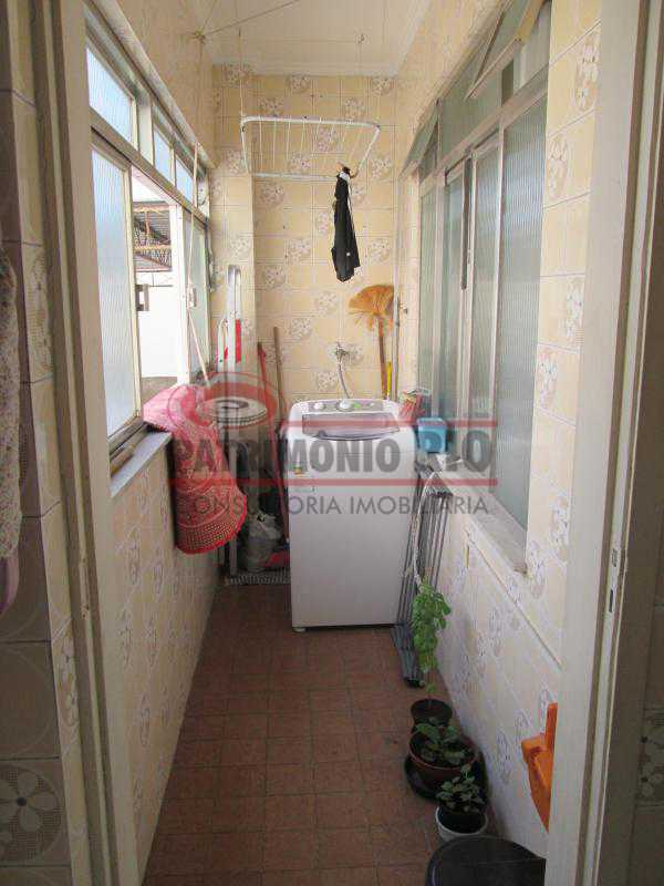 IMG_2042 - Excelente Apto Varanda, 2Quartos, Dependência Completa, Vaga de Garagem - Vista Alegre - PAAP22685 - 20