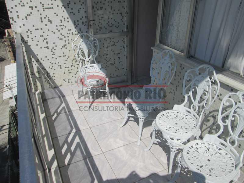 IMG_2045 - Excelente Apto Varanda, 2Quartos, Dependência Completa, Vaga de Garagem - Vista Alegre - PAAP22685 - 25