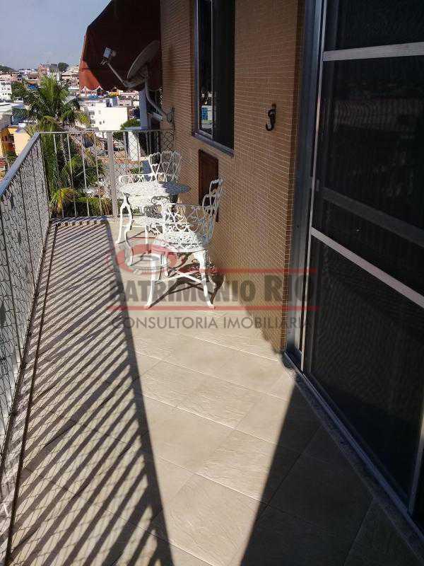 1 - Excelente Apartamento em Vista Alegre, varandão, 2quartos e vaga, junto ao Polo Gastronômico - PAAP22797 - 1