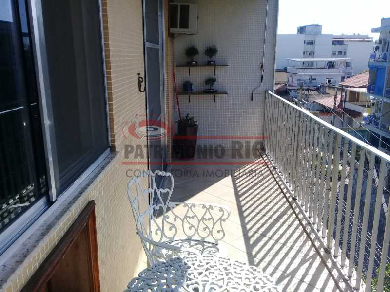 2 - Excelente Apartamento em Vista Alegre, varandão, 2quartos e vaga, junto ao Polo Gastronômico - PAAP22797 - 3