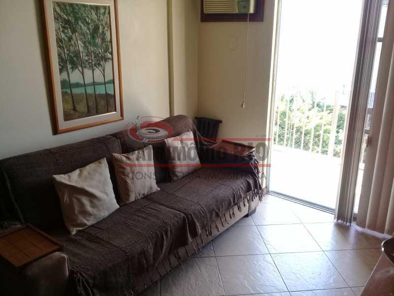 5 - Excelente Apartamento em Vista Alegre, varandão, 2quartos e vaga, junto ao Polo Gastronômico - PAAP22797 - 6