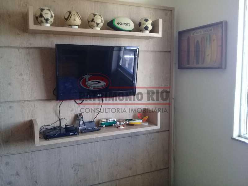 11 - Excelente Apartamento em Vista Alegre, varandão, 2quartos e vaga, junto ao Polo Gastronômico - PAAP22797 - 12
