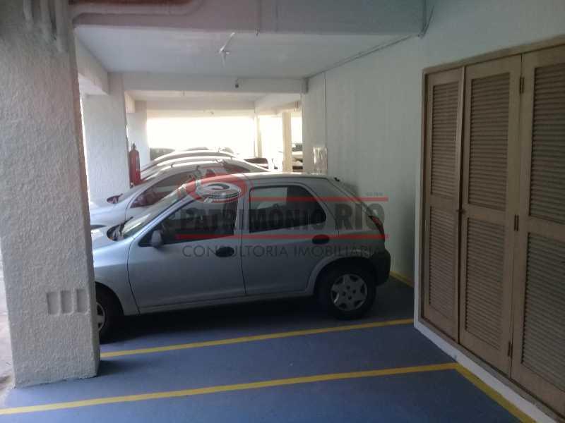 29 - Excelente Apartamento em Vista Alegre, varandão, 2quartos e vaga, junto ao Polo Gastronômico - PAAP22797 - 30