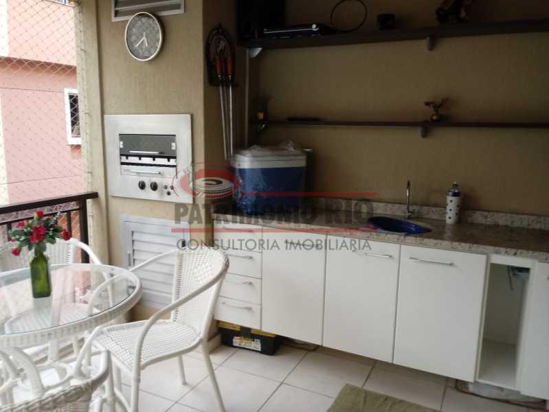 IMG-20190312-WA0063 - Apartamento 3quartos - 1suite- 2vagas - Taquara - PAAP30746 - 5