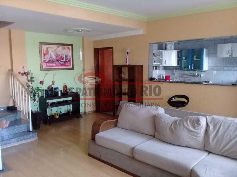 2 - Boa casa triplex em Condomínio fechado com 3qtos, piscina, churrasqueira e duas vagas próximo Largo do Bicão - PACN30043 - 3