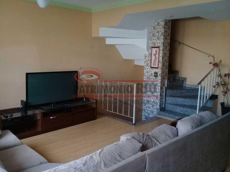 3 - Boa casa triplex em Condomínio fechado com 3qtos, piscina, churrasqueira e duas vagas próximo Largo do Bicão - PACN30043 - 4