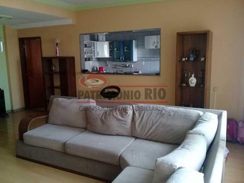 4 - Boa casa triplex em Condomínio fechado com 3qtos, piscina, churrasqueira e duas vagas próximo Largo do Bicão - PACN30043 - 5