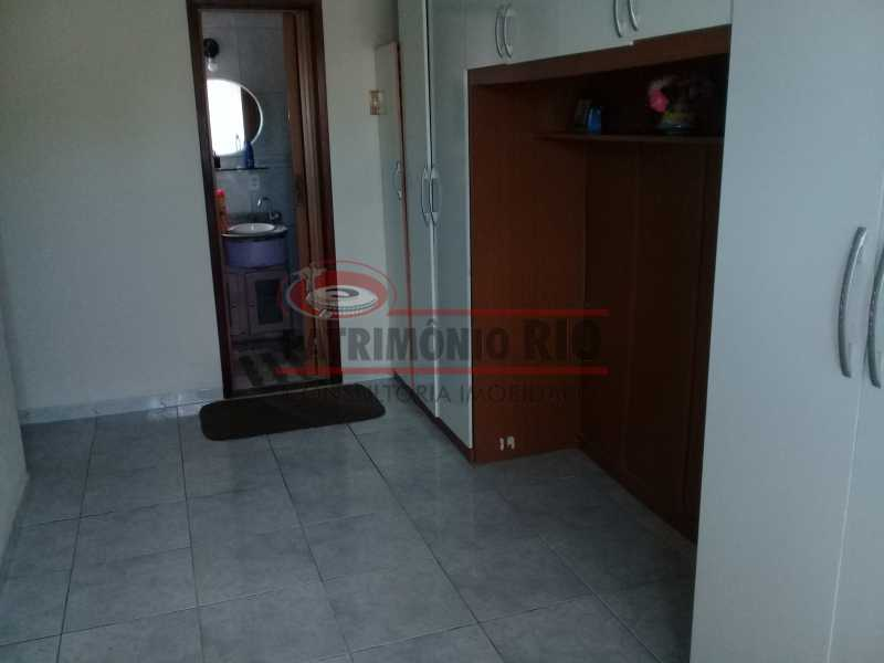 6 - Boa casa triplex em Condomínio fechado com 3qtos, piscina, churrasqueira e duas vagas próximo Largo do Bicão - PACN30043 - 7
