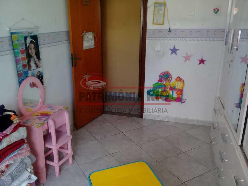 7 - Boa casa triplex em Condomínio fechado com 3qtos, piscina, churrasqueira e duas vagas próximo Largo do Bicão - PACN30043 - 8