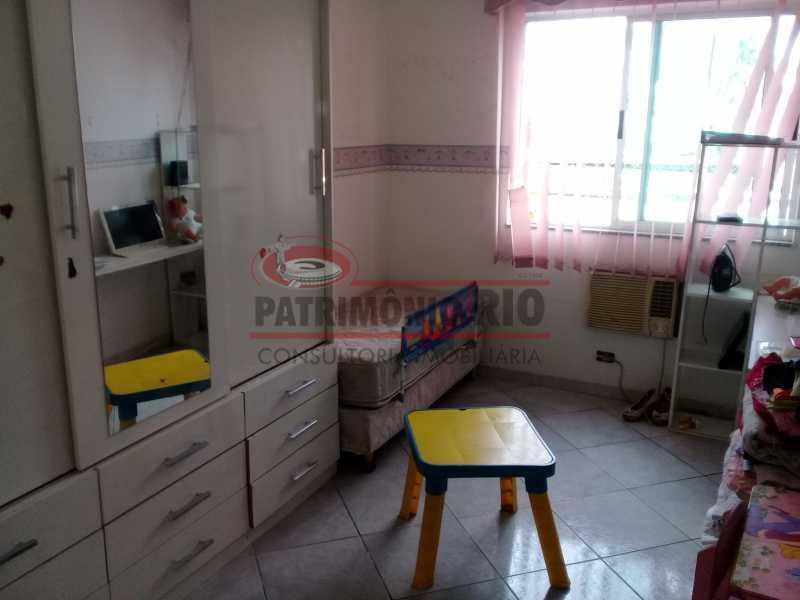 8 - Boa casa triplex em Condomínio fechado com 3qtos, piscina, churrasqueira e duas vagas próximo Largo do Bicão - PACN30043 - 9
