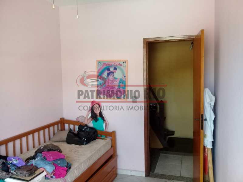 10 - Boa casa triplex em Condomínio fechado com 3qtos, piscina, churrasqueira e duas vagas próximo Largo do Bicão - PACN30043 - 11