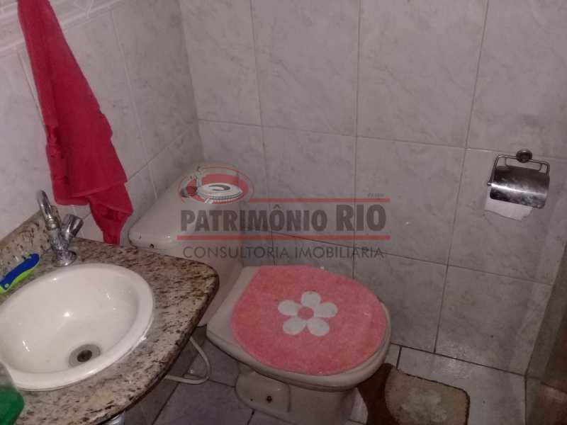 11 - Boa casa triplex em Condomínio fechado com 3qtos, piscina, churrasqueira e duas vagas próximo Largo do Bicão - PACN30043 - 12