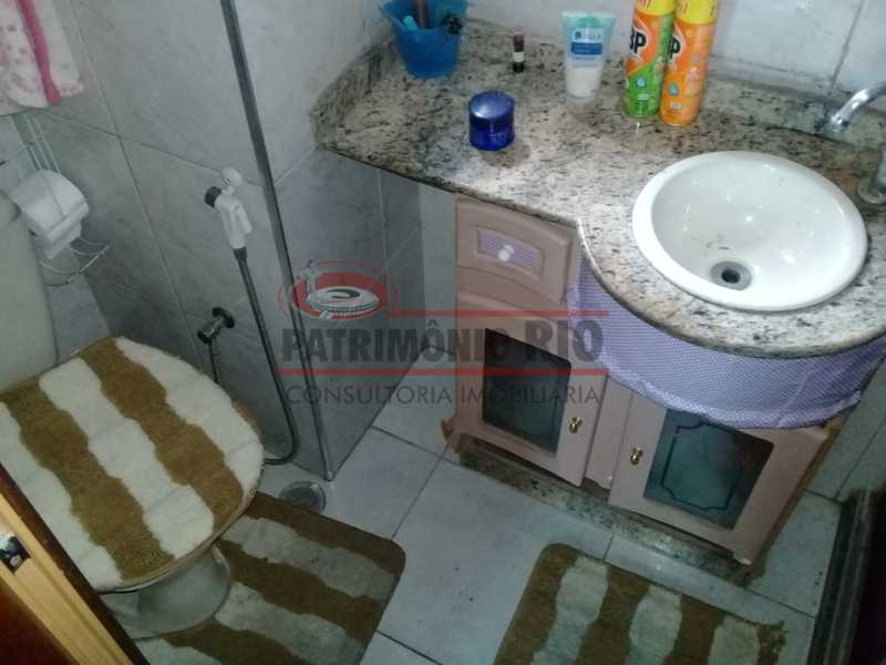 12 - Boa casa triplex em Condomínio fechado com 3qtos, piscina, churrasqueira e duas vagas próximo Largo do Bicão - PACN30043 - 13