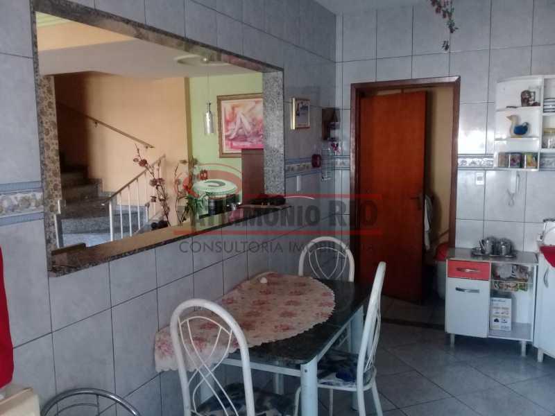 13 - Boa casa triplex em Condomínio fechado com 3qtos, piscina, churrasqueira e duas vagas próximo Largo do Bicão - PACN30043 - 14