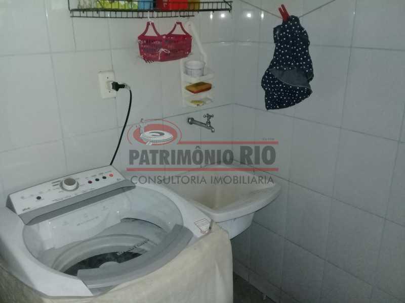 15 - Boa casa triplex em Condomínio fechado com 3qtos, piscina, churrasqueira e duas vagas próximo Largo do Bicão - PACN30043 - 16