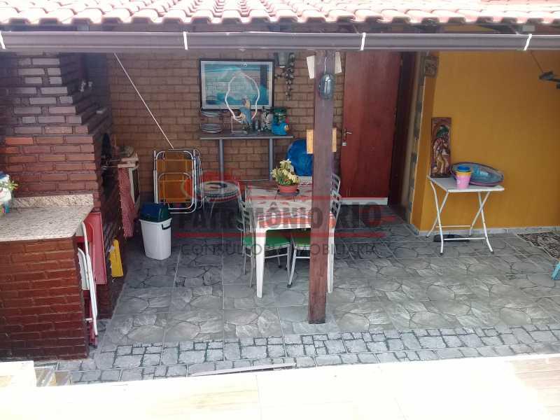 17 - Boa casa triplex em Condomínio fechado com 3qtos, piscina, churrasqueira e duas vagas próximo Largo do Bicão - PACN30043 - 18
