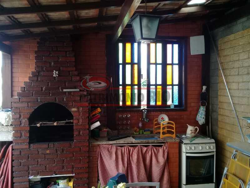 18 - Boa casa triplex em Condomínio fechado com 3qtos, piscina, churrasqueira e duas vagas próximo Largo do Bicão - PACN30043 - 19