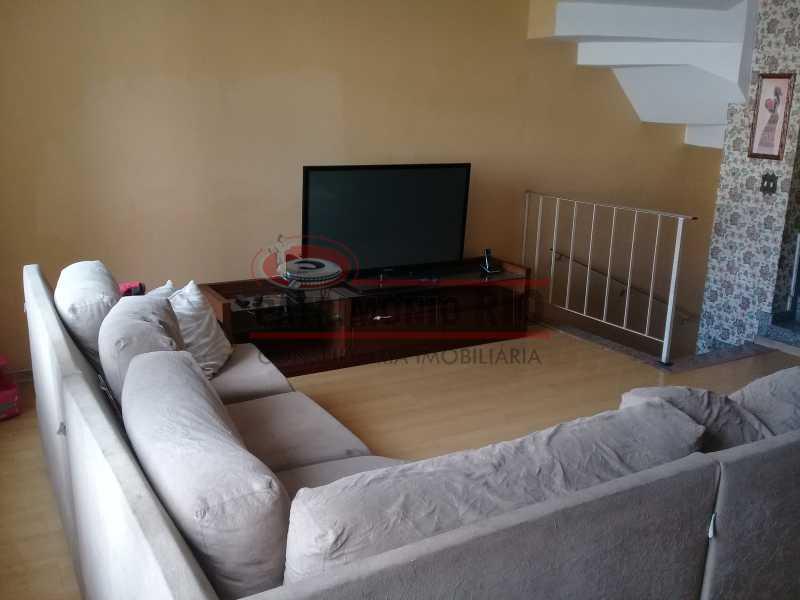21 - Boa casa triplex em Condomínio fechado com 3qtos, piscina, churrasqueira e duas vagas próximo Largo do Bicão - PACN30043 - 22