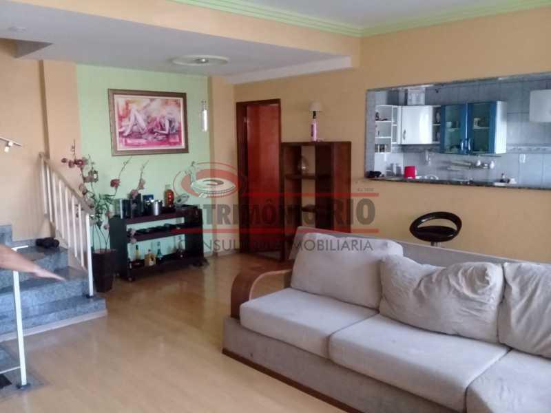 22 - Boa casa triplex em Condomínio fechado com 3qtos, piscina, churrasqueira e duas vagas próximo Largo do Bicão - PACN30043 - 23