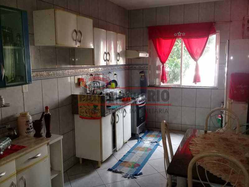 26 - Boa casa triplex em Condomínio fechado com 3qtos, piscina, churrasqueira e duas vagas próximo Largo do Bicão - PACN30043 - 27