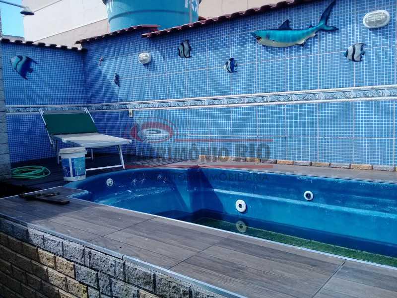 27 - Boa casa triplex em Condomínio fechado com 3qtos, piscina, churrasqueira e duas vagas próximo Largo do Bicão - PACN30043 - 28