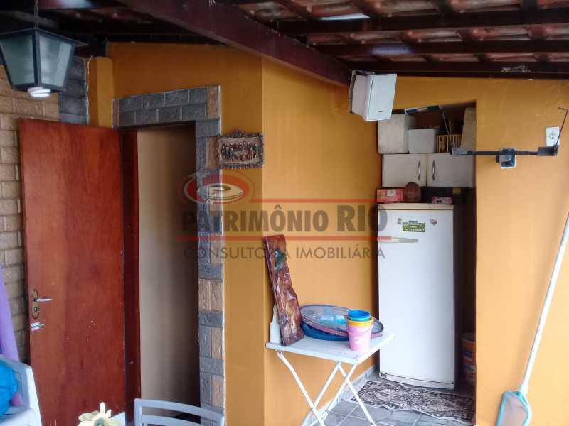 28 - Boa casa triplex em Condomínio fechado com 3qtos, piscina, churrasqueira e duas vagas próximo Largo do Bicão - PACN30043 - 29