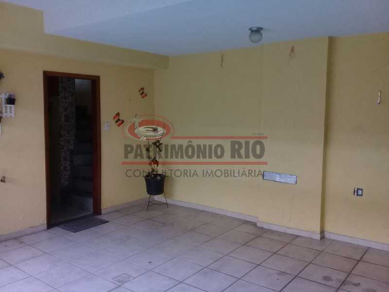 29 - Boa casa triplex em Condomínio fechado com 3qtos, piscina, churrasqueira e duas vagas próximo Largo do Bicão - PACN30043 - 30