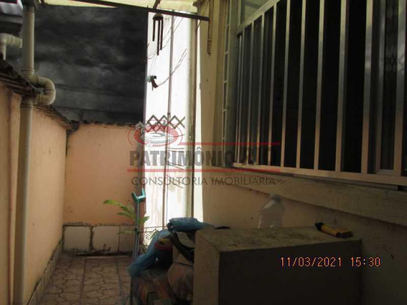 IMG_2401 - Apartamento tipo casa térreo, 2qtos sem condomínio - hidrômetro separado - Penha Circular - PAAP22886 - 29