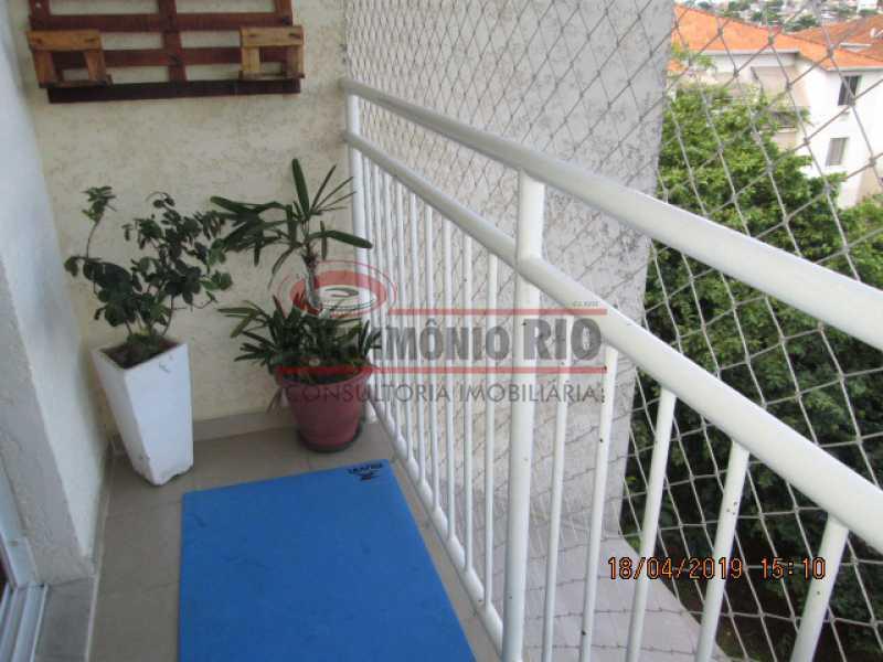 IMG_8168 - Apartamento semi luxo 3qtos - Condomínio Rossi Ideal Vila Cordovil - PAAP30755 - 5