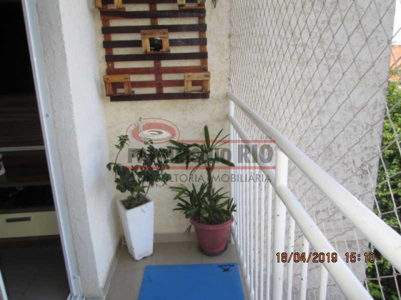 IMG_8169 - Apartamento semi luxo 3qtos - Condomínio Rossi Ideal Vila Cordovil - PAAP30755 - 6
