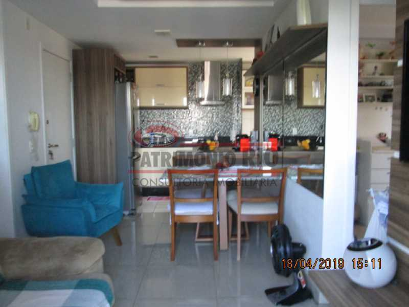 IMG_8172 - Apartamento semi luxo 3qtos - Condomínio Rossi Ideal Vila Cordovil - PAAP30755 - 7