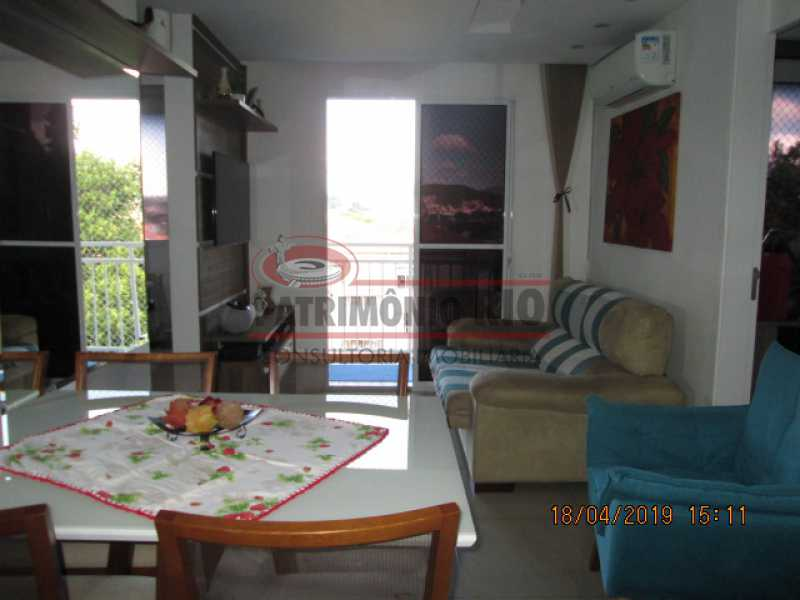 IMG_8173 - Apartamento semi luxo 3qtos - Condomínio Rossi Ideal Vila Cordovil - PAAP30755 - 8