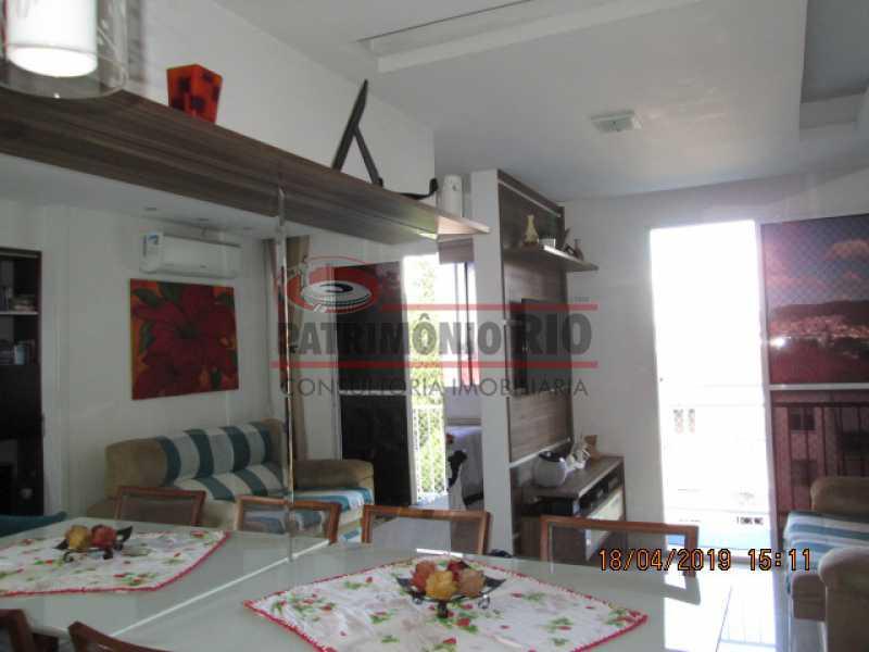 IMG_8174 - Apartamento semi luxo 3qtos - Condomínio Rossi Ideal Vila Cordovil - PAAP30755 - 9