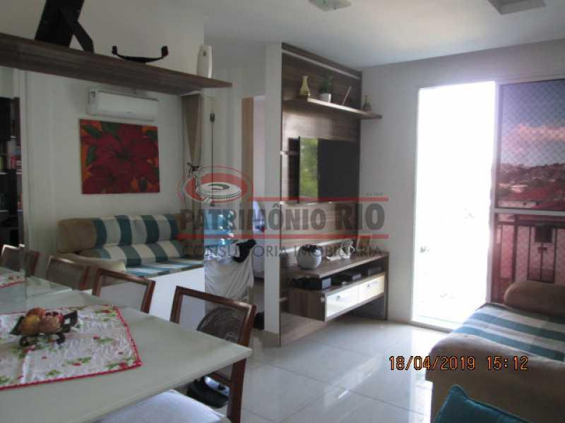 IMG_8176 - Apartamento semi luxo 3qtos - Condomínio Rossi Ideal Vila Cordovil - PAAP30755 - 10