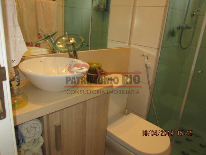 IMG_8187 - Apartamento semi luxo 3qtos - Condomínio Rossi Ideal Vila Cordovil - PAAP30755 - 16
