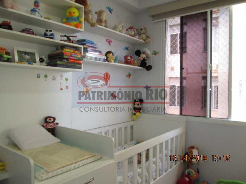 IMG_8188 - Apartamento semi luxo 3qtos - Condomínio Rossi Ideal Vila Cordovil - PAAP30755 - 17