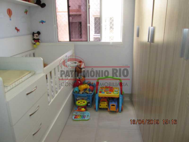IMG_8190 - Apartamento semi luxo 3qtos - Condomínio Rossi Ideal Vila Cordovil - PAAP30755 - 19