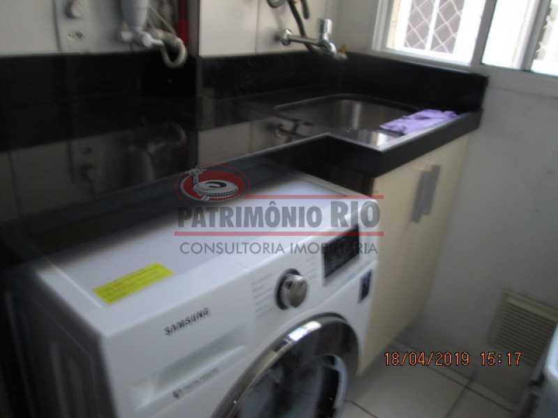 IMG_8195 - Apartamento semi luxo 3qtos - Condomínio Rossi Ideal Vila Cordovil - PAAP30755 - 31
