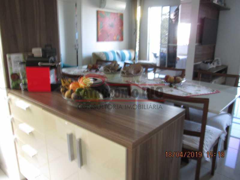 IMG_8201 - Apartamento semi luxo 3qtos - Condomínio Rossi Ideal Vila Cordovil - PAAP30755 - 26
