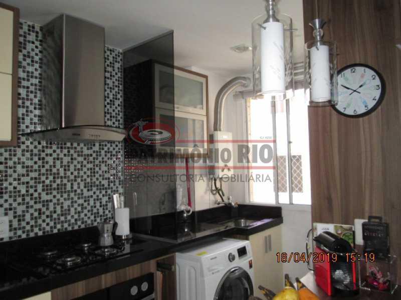 IMG_8205 - Apartamento semi luxo 3qtos - Condomínio Rossi Ideal Vila Cordovil - PAAP30755 - 29