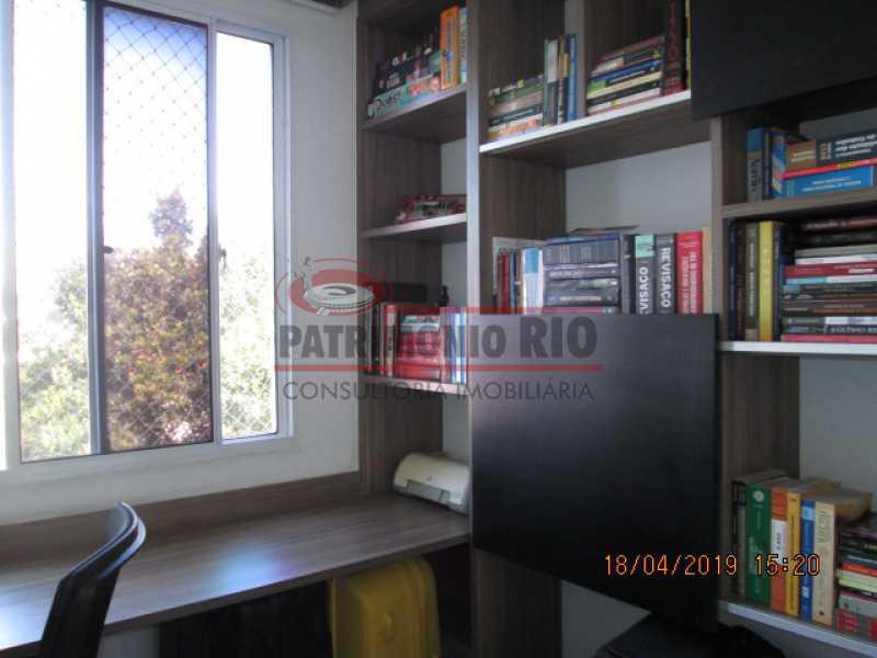 IMG_8206 - Apartamento semi luxo 3qtos - Condomínio Rossi Ideal Vila Cordovil - PAAP30755 - 22
